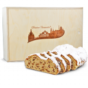 1000g Original Dresdner Christstollen® in wooden box