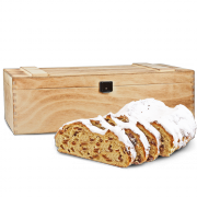 750g Original Dresdner Christstollen® in wooden box