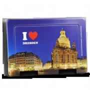 Lunchbox I love Dresden mit Motiv Frauenkirche