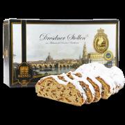 1500g Original Dresdner Christstollen ® in Geschenkkarton